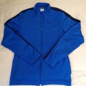 Nike Track Jacket Blue Size M GUC